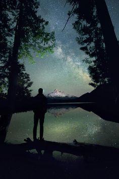 Magical night sky.