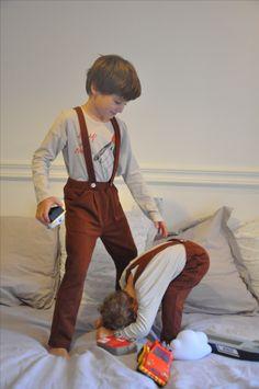 Le Petit Germain Goji trousers in erable