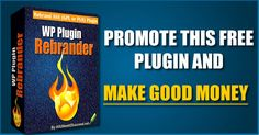 Finally ready for the launch of my new product: WP Plugin Rebrander will go live tomorrow. It'll be available for free. Affiliates can earn commissions on the upsells. For more info visit the JV page here:  WP Plugin Rebrander - JV Page