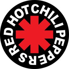 "Red Hot Chili Peppers Band Round Bumper Sticker american rock punk music 4.5"" X 4.5"""