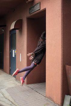 A tranquilidade da levitação