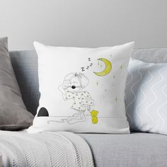 If a full redecorating project isn't in your budget, consider this inexpensive idea to give your room new life.Liven up your living room or bedroom with throw and floor pillows! Designer Throw Pillows, Pillow Design, Floor Pillows, Wall Tapestry, Duvet Covers, Living Room Decor, Budget, Nursery, Bedroom