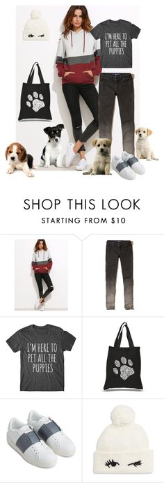 """Untitled #387"" by the-student-bride on Polyvore featuring Hollister Co., Los Angeles Pop Art, Valentino and Kate Spade"