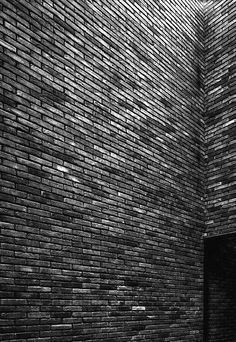 The traditional building material in northern Europe: brick. Vincent van Duysen's VDD house.