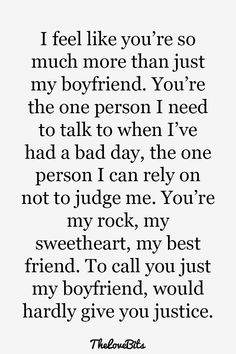 Quotes Discover Boyfriend Quotes to Help You Spice Up Your Love 50 Boyfriend Quotes to Help You Spice Up Your Love TheLoveBits Future Boyfriend Quotes Best Boyfriend Boyfriend Humor Boyfriend Goals Boyfriend Sayings Bff Deep My Guy Videos Funny Cute Love Quotes, Love Quotes For Him, Quotes To Live By, Me Quotes, Funny Quotes, Sweet Quotes, Humor Quotes, Qoutes, Future Boyfriend Quotes