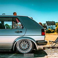 Volkswagen Golf Mk1, Vw Mk1, Vw Rat Rod, Jetta A2, Golf 6, Turbo Car, Air Ride, Vin Diesel, Motor Car