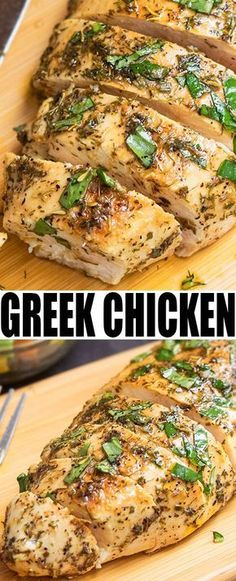 Quick and easy GREEK CHICKEN MARINADE recipe, requiring 10 minutes of prep time and simple ingredients. Makes the best baked or grilled Greek chicken. From cakewhiz.com
