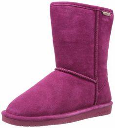 Amazon.com: BEARPAW Women's Emma Short Boot: Shoes