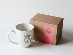 """""""you are loved"""" mug- look for print"""