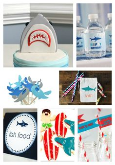 Shark Party Loveables! - B. Lovely Events