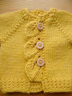 Knitting Patterns For Babies On Pinterest : Receita: Casaquinho Gabriel Adaptacao: Nany Bastos (1000 Artes by Nany) Mater...