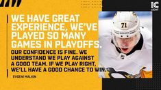 Evgeni Malkin, Hockey Puck, Pittsburgh Penguins