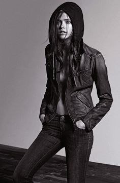 Julia Saner for Armani Jeans Fall 2011