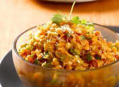 Recette Dal indien aux lentilles corail et aux épices douces - FemininBio