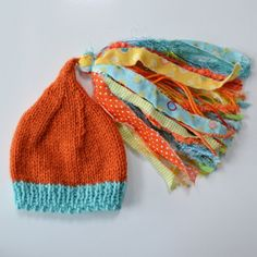 BaBY PHoTO ProP Newborn Knit Baby HAT Newborn by MadAboutColour, $30.00