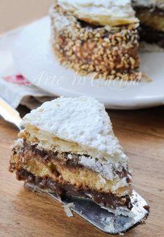 Diplomatica al cioccolato ricetta torta vickyart arte in cucina