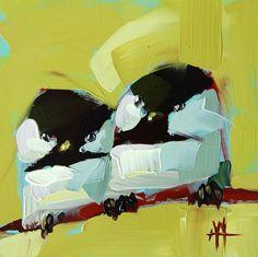 Angela Moulton chickadees