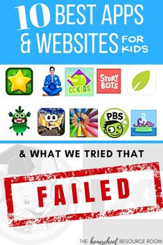 Ten Best Apps for Kids – and what we tried that FAILED! – The Homeschool Resource Room Best Learning Apps, Educational Apps For Kids, Educational Websites, Fun Learning, Homeschool Curriculum Reviews, Homeschool Math, Homeschooling, Parenting Humor, Parenting Tips