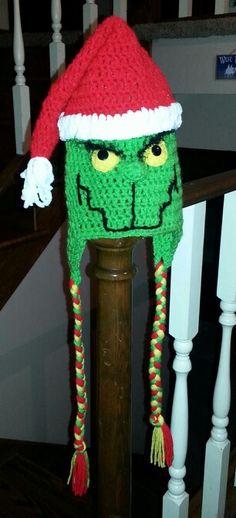 Adult Grinch Hat