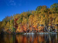 Fall time in Northwestern Ontario