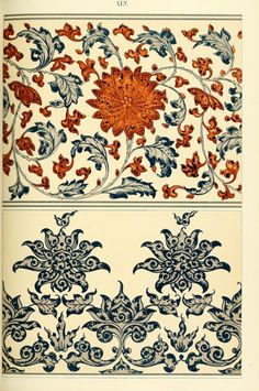 """from """"Examples of Chinese ornament"""", by Owen Jones, London, 1867"""
