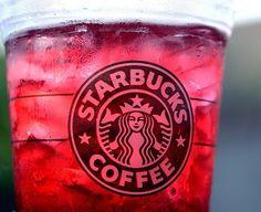 Starbucks Passion Tea Lemonade recipe served at Starbucks at Downtown Disney in Disney World