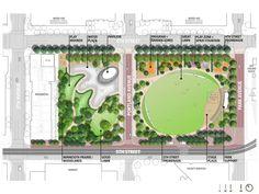 The Basic Principles of Landscape Design Garden Design Plans, Landscape Design Plans, Landscape Architecture Design, Landscape Art, Cool Landscapes, Beautiful Landscapes, Site Plan Rendering, Parking Plan, Aquarium Design