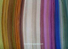 variedad de colores en papel reciclado Painting, Art, Upcycling, Colors, Art Background, Painting Art, Kunst, Paintings, Performing Arts