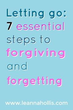 We don't have to be controlled by the pain of unforgiveness. Read this post to learn 7 steps to help you forgive and forget. Spiritual Encouragement, Daily Encouragement, Daily Devotional, Christian Motivational Quotes, Christian Quotes, Inspirational Quotes, Forgiveness Quotes, Faith Quotes, Christian Life