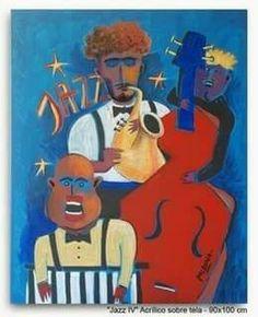 Jazz oil on canvas