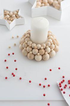 Diy Blog, Diy Weihnachten, Xmas Decorations, Potted Plants, Diy Home Decor, Diy And Crafts, Easy Diy, Carving, Crafty