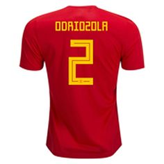 8b16967df 2018 World Cup Jersey Spain Home Replica Red Shirt 2018 World Cup Jersey  Spain Home Replica Red Shirt