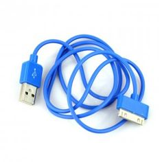 New USB Data Charger Cable for iPhone iPod itouch Blue