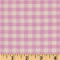 Michael Miller Children at Play School Gingham Lilac