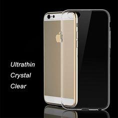 """초슬림 i6 커버 아이폰 6 투명 소프트 실리콘 Coque iphone6 크리스탈 TPU 4.7 """"케이스 아이폰 6 초 Fundas"""