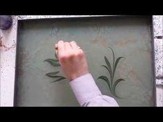Ebru Sanati, Cift Lale, الفن على الماء, Marbling - YouTube