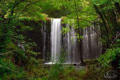 Acea da serra waterfall (Baleira, Lugo, Spain)