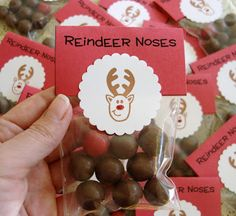Reindeer noses for xmas presents
