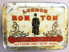 Bon Ton tobacco tin