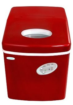 NewAir 28 Pound Portable Ice Maker - Never buy extra ice again. Perfect for parties, picnics or any time you need an extra supply of ice cubes.