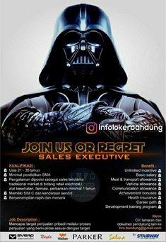 Join Us Or Regret ! Sales Executive Bandung Juli 2018