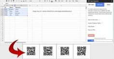 Generate QR Codes from Google Sheets via Educational Technology and Mobile L... via @gpmt http://sco.lt/...