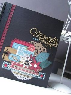 Album Moments Magiques Scrapbooking Ideas Diy