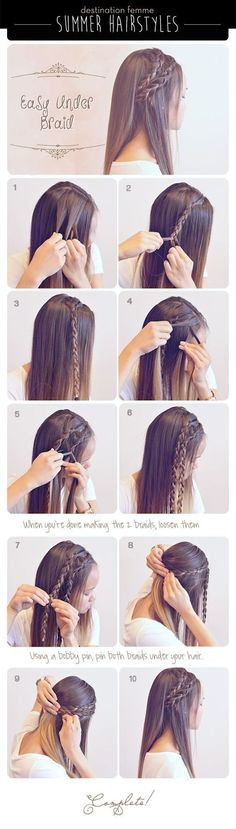 20 Simple and Easy Hairstyle Tutorials For Your Daily Look! - Trend To Wear