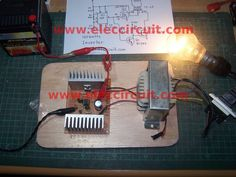 Here is ic 555 inverter circuit. is easy and small size. Because use NE555 and MOSFET as main. When use source is 12V battery will have output of 100 watts.