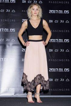 Jennifer Lawrence. Passengers Press Conference, Seoul - December 16 2016