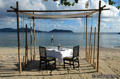 Old Siam Restaurant at Thavorn Beach Village Resort & Spa near Patong in Phuket, Thailand