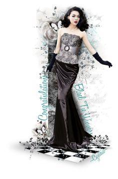 """~Black Tie Affair Winners Trophy~"" by cindu12 ❤ liked on Polyvore featuring art"