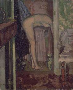 Walter Richard Sickert, 'Woman Washing her Hair' 1906