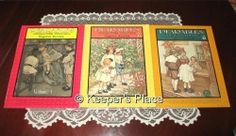 Pearables Character Building Kingdom Stories Volumes 1, 2, 3 Books Near Mint